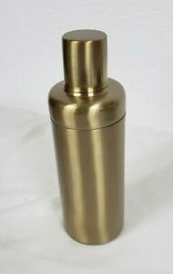 **MINOR SCRATCHES** Project 62 21oz Stainless Steel Cocktail Shaker, Gold