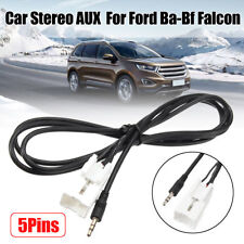 150cm Car Stereo Radio Auxiliary AUX Adaptor Lead Cable For Ford Ba-Bf Falcon