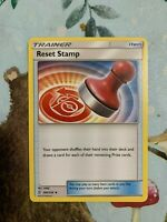 4X Pokemon SM Unified Minds Reset Stamp  #206/236 NM/MINT