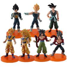 Japanese Anime Dragon Ball Z Characters PVC Figures Set Of 7pcs