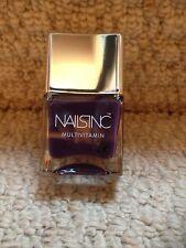 New Nails Inc 14ml Clarence Avenue Multivitamin Nail Polish - Deep Purple