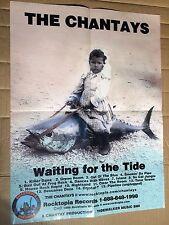 THE CHANTAYS - WAITING FOR THE TIDE - ORIGINAL PROMO POSTER PLAKAT 1996 + FOLDER