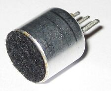 Electret Condenser Microphone with Dustscreen and 3 Pins - 10 mm  - 3 to 15 V DC