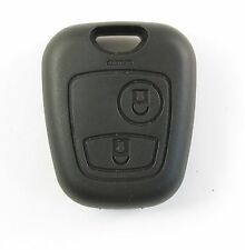 PEUGEOT 406 806 Partner remote KEY FOB case 2 buttons ORIGINAL FIT (screwless)