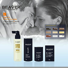 Hair Building Fibers Thickening Regain Loss Concealer Fixing Spray