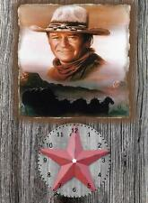 John Wayne Wall Clock  It would make a great  Gift