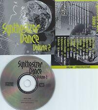 SYNTHESIZER DANCE VOLUME.2-SWITZERLAND-HYPERSOUND RECORDS HYPS 71008-CD-NEW