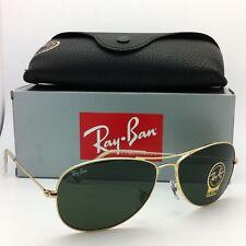 New Ray-Ban Sunglasses RB 3362 COCKPIT 001 59-14 Arista w/ G15 Crystal Green