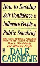 How to Develop Self-Confidence and Influence People Dale Carnegie 9780671746070
