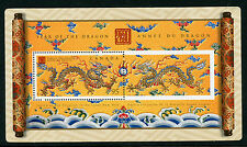 Weeda Canada 1837 VF MNH Souvenir Sheet, 2000 Lunar Year of the Dragon CV $2.25
