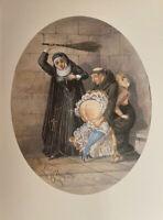 Victorian Era Erotik Akt Love Kloster Peitsche Antique Art Breast England 1880
