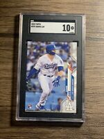 2020 Topps Gavin Lux RC #292 SGC 10 Los Angeles Dodgers (comp to PSA / BGS)