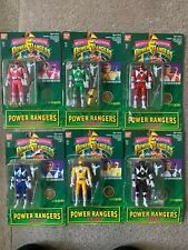 Mighty Morphin Power Rangers Vintage 1993 Bandai Flip Head Figures Lot Of 6 set