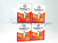SALE Bayer Contour TS Diabetic Test Strips Sealed New 200 (50*4) Exp 02/2019 US