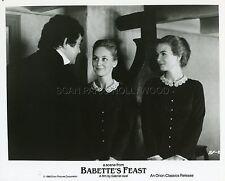 VIBEKE HASTRUP  HANNE STENSGAARD LE FESTIN DE BABETTE 1987 PHOTO ORIGINAL #2