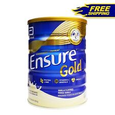 New Abbott Ensure Gold Vanilla Complete Nutrition Milk (1 x 850g) Free Shipping