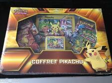 Coffret Pokemon Pikachu XY95 5 boosters + 2 cartes