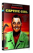 JUNGLE JIM : CAPTIVE PARMIS LES FAUVES - Johnny Weissmuller Français Tarzan DVD