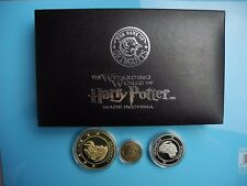 New in box Harry Potter Gringotts Bank Coin collect 1 Galleon,1 Sickle,1 Knut