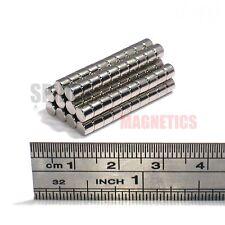 100 Imanes 4x3 mm N52 Imán De Neodimio Disco Pequeño Redondo artesanía 4mm diámetro x 3mm