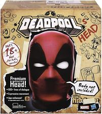 MARVEL LEGENDS DEADPOOL ELECTRONIC INTERACTIVE HEAD in hand