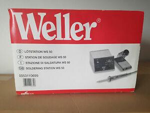 Profi Weller WS 50 Power Lötstation + TOP Lötkolben MLR 21 +Stativ NP 399,- Bild