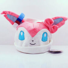New Pokemon Sylveon Plush Hat Warm Cap Costume Christmas Gift