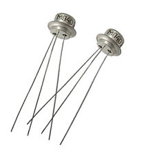 2pcs NOS MP40 МП40 PNP Germanium Transistor AC128 2G381 OC75 Tone Bender Fuzz