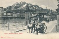 LUZERN – Kapellbrucke und Pilatus – Lucerne – Switzerland