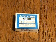 100 TIEMCO Fly Tying Hooks TMC 5262 Size 10