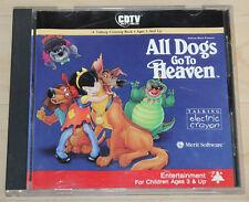 CDTV All Dogs go to Heaven (Amiga, 1991, Jewel-Case)