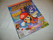 """Nintendo Power Strategy Guide #117 Mario Party - With """"Rampage 2"""" Poster!"""