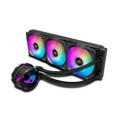 Asus Rog Strix LC360 RGB 360mm Liquide CPU Refroidisseur 3 X Adressable Pwm Fans
