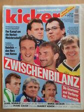 KICKER 100-11.12. 1995 * BVB Herbstmeister Uerdingen-Pauli 2:5 HSV-Frankfurt 5:1