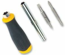 Stanley Carded 6 Way Screwdriver    0 68 012 Yellow and Black 1