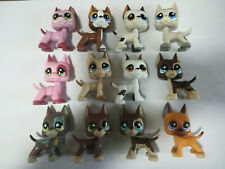 8pcs/Lot random great dane dog Littlest Pet Shop toy cute Christmas gift