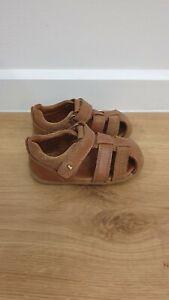 Bobux Caged Sandal Tan Leather Size 20