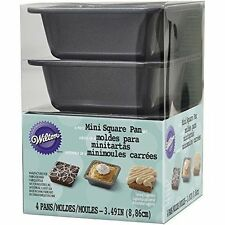 Wilton 2105-4637 Square Pie Pan Set Mini