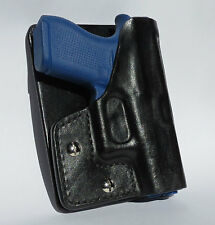 Pocket/Cargo Pants Holster fits Glock 43, 9mm, Handmade Leather Ambidextrous