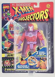 X-MEN PROJECTORS MAGNETO ACTION FIGURE/PROJECTOR WITH 3 DIFFERENT FILM DISKS