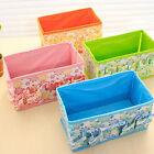 Folding Cosmetics Storage Stand Box Makeup Brush Pot Cosmetic Organizer Bag NEW