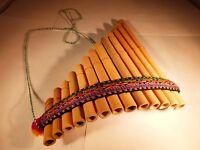 Curved Pan Flute Antara Bamboo 13 Pipe BEST DEAL Top Selling Siku Flauta