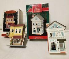 Hallmark Ornament Nostalgic Houses & Shops-Neighborhood Drugstore & Holiday Home