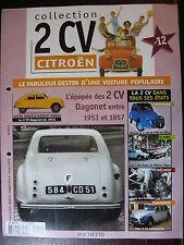 FASCICULE   12 CITROEN 2CV DAGONET 1956 / LIMOUSINE