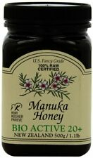 Manuka Honey Bio Active 20+, Pacific Resources International, 500 gram