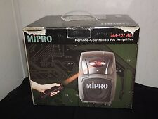MIPRO MA-101 ACT - Remote-Controlled PA Amplifier - NOS