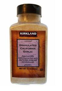 🔥 Kirkland Signature Granulated California Garlic 18 oz 🔥