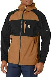 New $179 Carhartt Storm Defender Force WATERPROOF Midweight Hooded Jacket SMALL