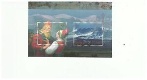 NORWAY SC.1538 NORSE MYTHOLOGY MYTHIC CITIES MNH S/S BKPG18