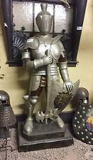 Suit Of Armour Statue Medieval Outdoor Indoor